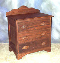 "3 Drawer Commode 28"" x 19"" x 34"" high $ 1,495.00"