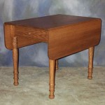 Drop Leaf Table with 2 Drawers