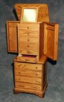 Custom handmade jewelry armoire