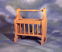 "Magazine Rack 10"" x 18"" x 21"" high $ 157.00"