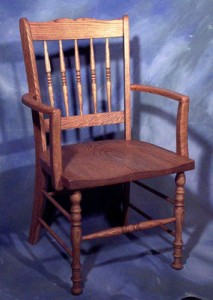 Spindle Back Host Chair