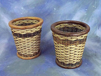 "Waste baskets 12"" round x 13"" high $ 95.00"