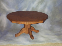 "36"" Pedestal Coffee Table"
