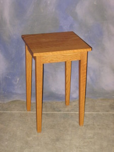 "End Table 16"" x 16"" x 25"" high $ 375.00"