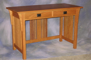 "Mission Desk 22"" x 46"" x 30"" high $ 1,996.00"