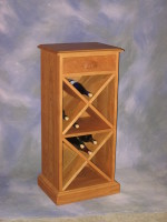 "Wine Cabinet <br>20"" x 15"" x 41"" high <br>$ 1,072.00"