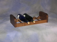 "1 Section Wine Rack <br>9"" x 19"" x 5"" high <br>$ 65.00"