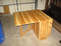 Hickory Storage Table