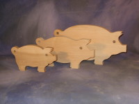 Pig Cutting Boards