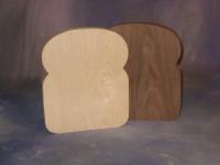 """Light and Dark """"Bread"""" board"""