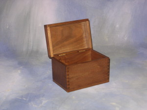 Solid Wood Recipe Box
