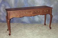 Queen Anne Sofa Table