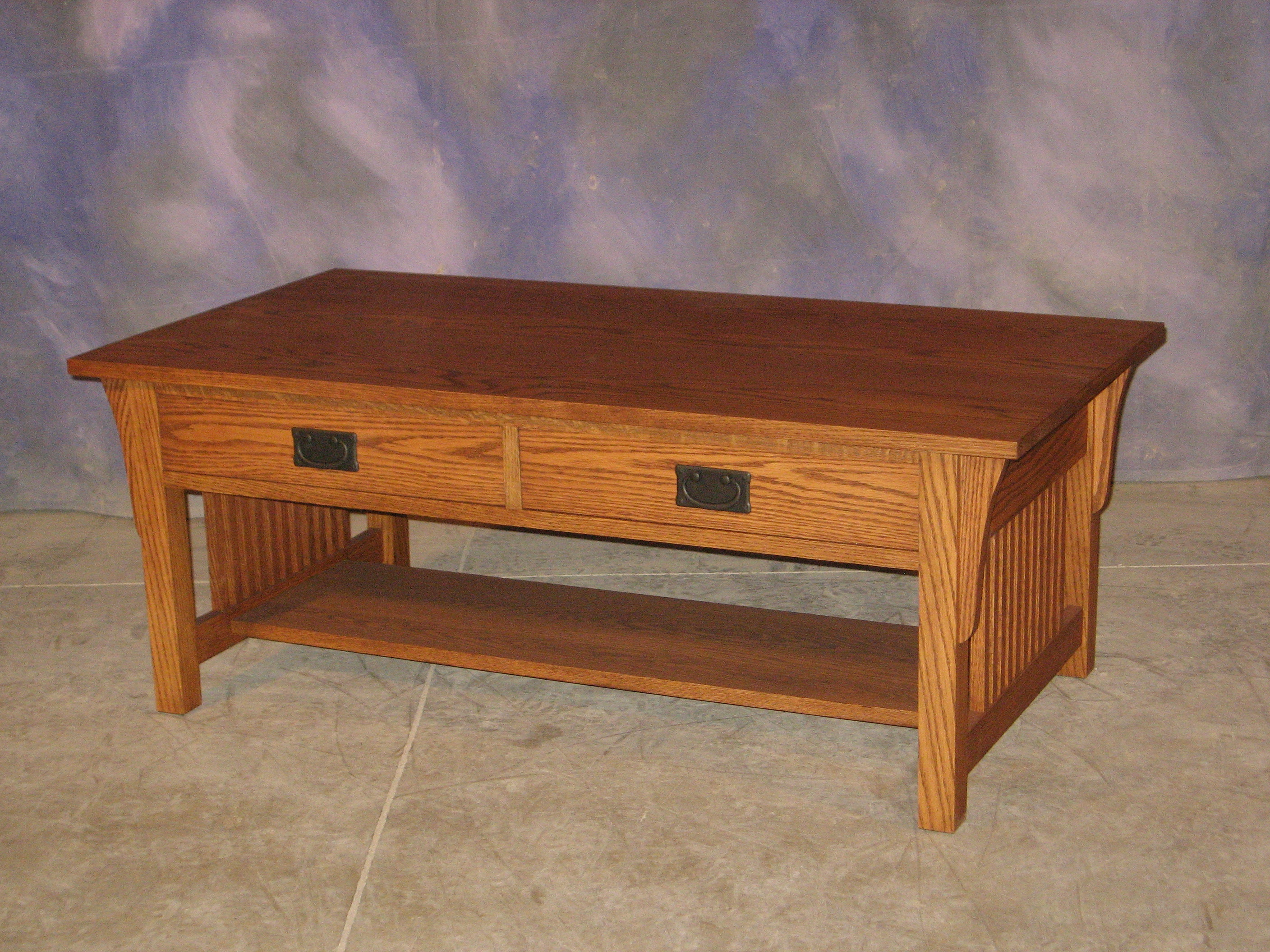 Mission coffee table schanz furniture and refinishing mission coffee table geotapseo Images