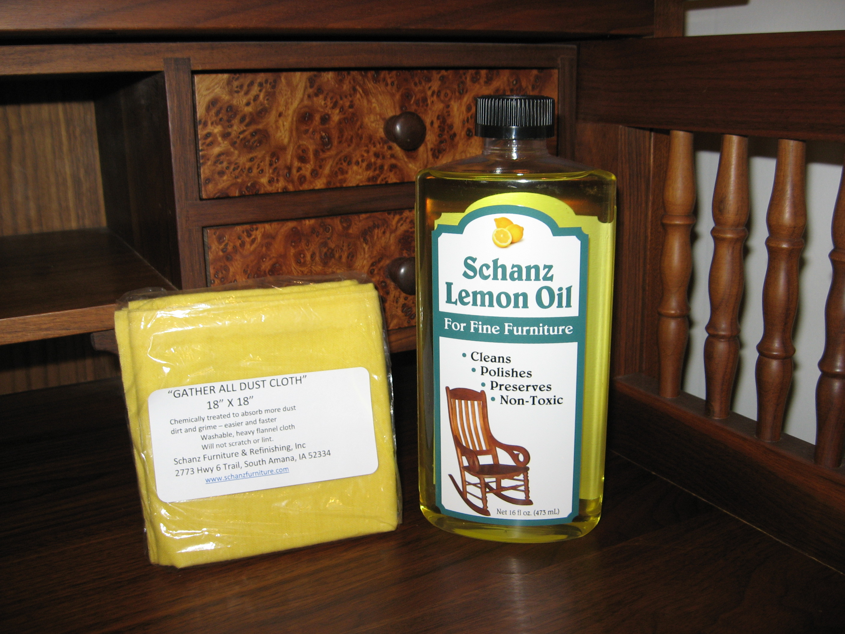 Lemon Oil Dust Cloth Schanz Furniture And Refinishing